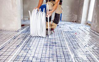 chauffage par le sol domestique