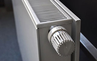 radiateur avec vanne