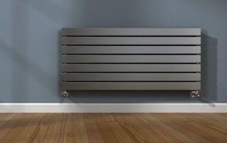 Radiateur et cache radiateur de couleur ombre
