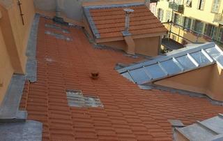 couverture toiture tuiles de terre cuite