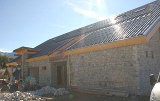 réalisation d'une nouvelle toiture