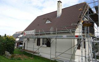 travaux de toiture échaufadages
