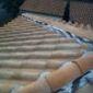 toiture inclinée tuiles romanes