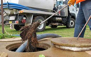 débouchage d'égouts et de fosses