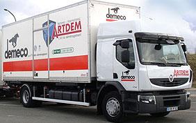 Camion de déménagement Artdem