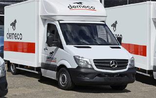 camion de déménagement Demeco