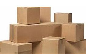 pile de cartons de déménagement