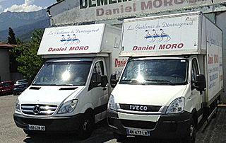 deux camions Daniel Moro