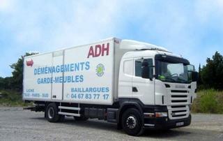 Camion de déménagement ADH34