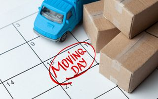Calendrier déménagement