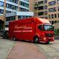 Photo d'un camion de déménagement de l'entreprise haegeman