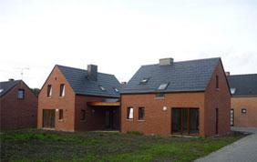 Construction clé sur porte d'un lot d'habitation