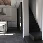 rénovation intérieure séjour et escalier