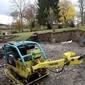 machine chantier jardin