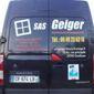 Camionnette de la société Geiger