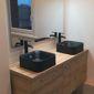 Salle de bain évier double vasque
