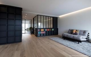 appartement contemporain avec verrière