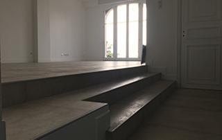 rénovation intérieure escalier