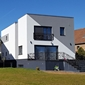 façade blanche moderne