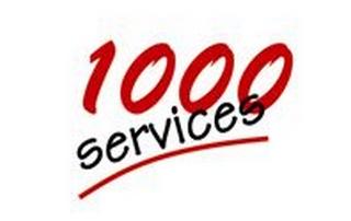 1000 Services Logo