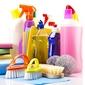 assortiment de produits de nettoyage