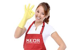 Faites appel aux femmes de ménage de KEOR Titres Services