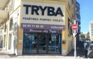 devanture magasin Tryba