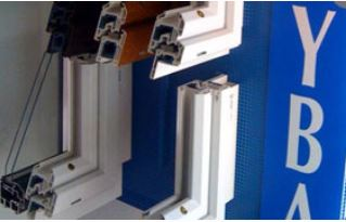 Profilés en aluminium double vitrage