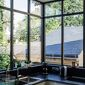 Fenêtre en coin cuisine