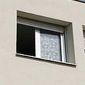 fenêtre ouverte en PVC