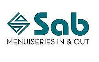 Logo Sab fabrication et pose de menuiseries pvc et aluminium