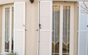 Fenêtres en PVC avec volet