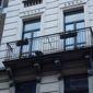 Balcon d'appartement réalisé par un ferronnier