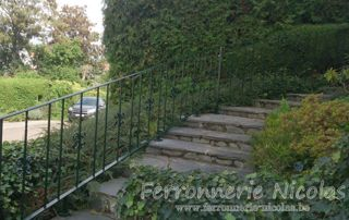 garde-corps escalier extérieur
