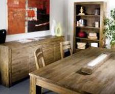 Une salle à manger en Teck