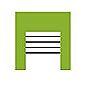 entrepôt de stockage pictogramme