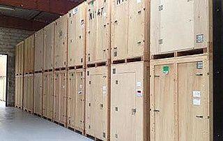 Location caisses de stockage et garde-meubles