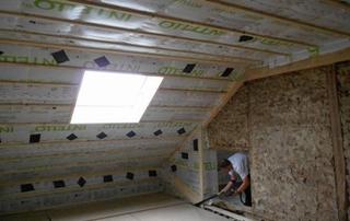 isolation de toit