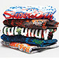 pile de t-shirts Superdry