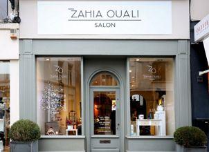 Devanture salon de coiffure Zahia Ouali