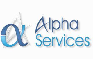 logo Alpha services nettoyage