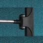 aspirateur tapis bleu