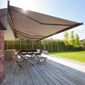 Banne solaire terrasse jardin soleil