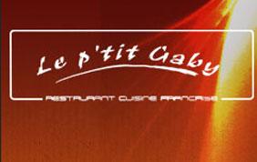 enseigne Le P'tit Gaby restaurant cuisine française