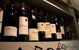 magasin de vins à Liège
