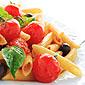 pates aux tomates cerise et au basilic