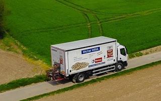 camion de livraison de mazout