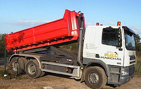 camion avec container