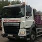 Camion pour transport de containers