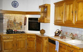 cuisine traditionnelle en bois
